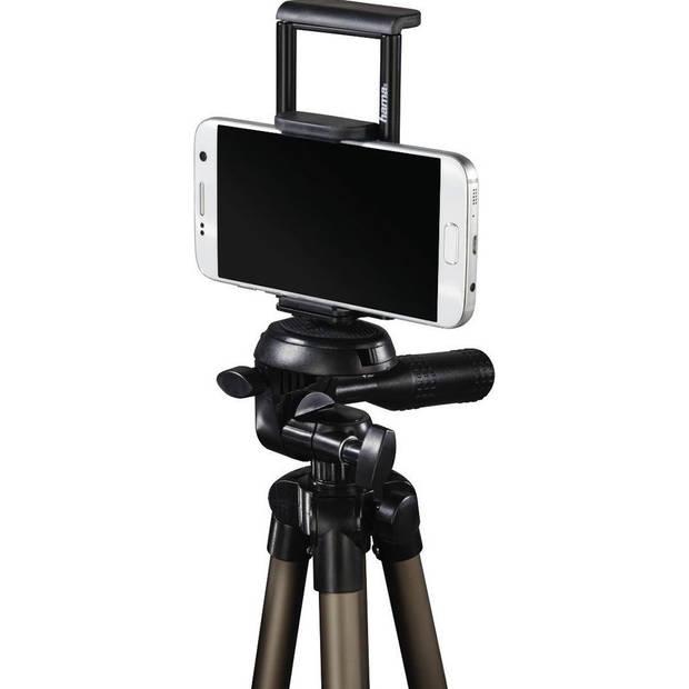Hama Tripod voor smartphones / tablets - Aluminium - Zwart