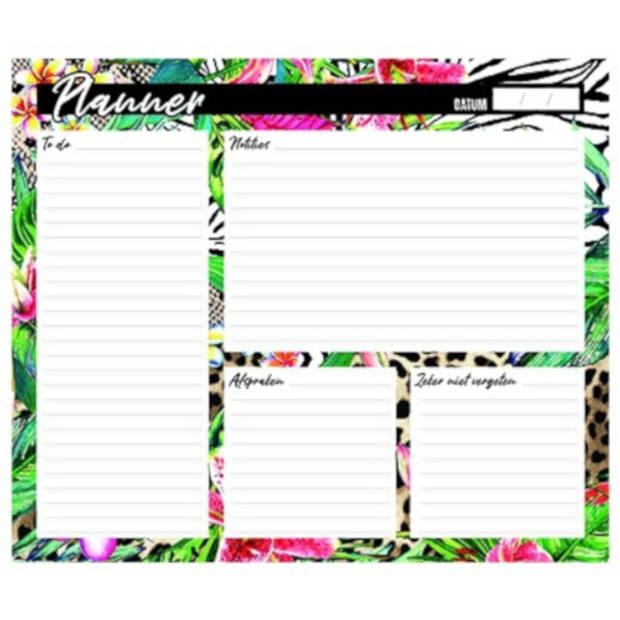 Verhaak planner Wild Thing 21 x 29,7 cm A3 papier 80 vellen