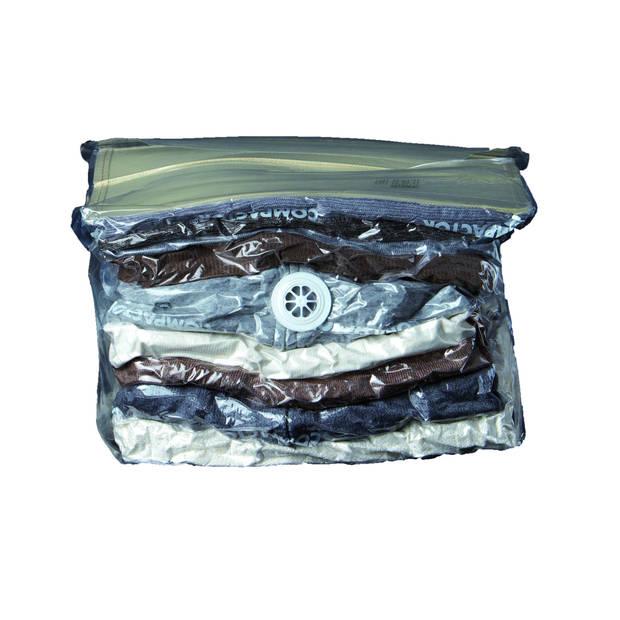 Compactor vacuüm opbergzak 48,5 x 52 cm & 50 x 60 cm 2 stuks