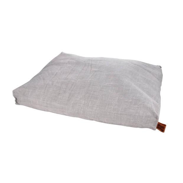 Wicotex-Hondenkussen-Hondenbed-Cosy 84x68cm licht grijs
