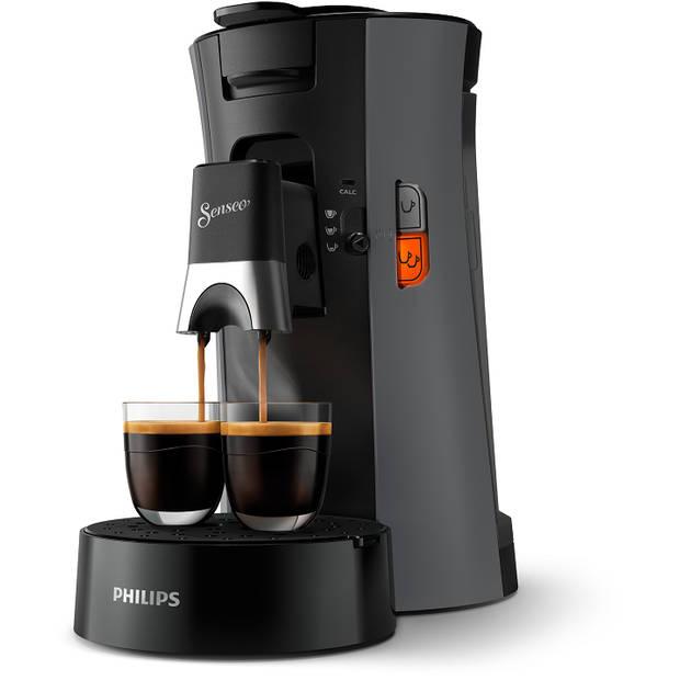 Philips SENSEO® Select koffiepadmachine CSA230/50 - donkergrijs