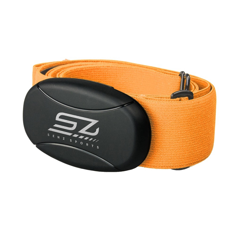 Hartslagmeter Senz Sports 5hz Borstband Oranje