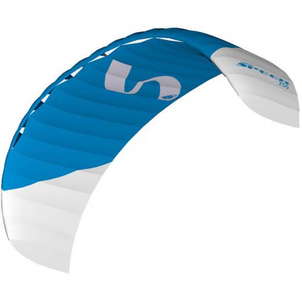 HQ Kites matrasvlieger Symphony 220 x 58 cm ripstop/nylon blauw