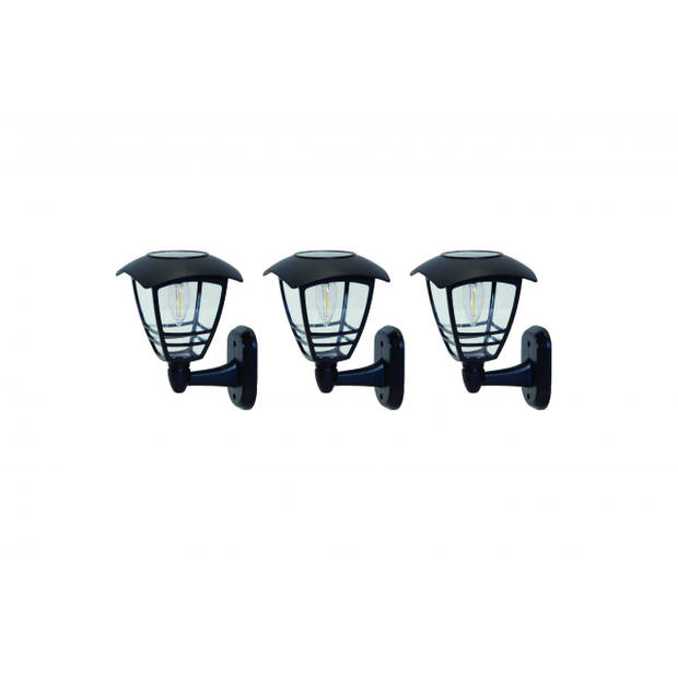 Hyundai - Moderne wandlamp op zonne-energie - 3 stuks