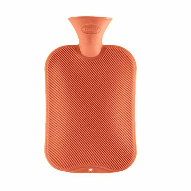 Kruik zalm oranje - 2 liter - warmwaterkruik