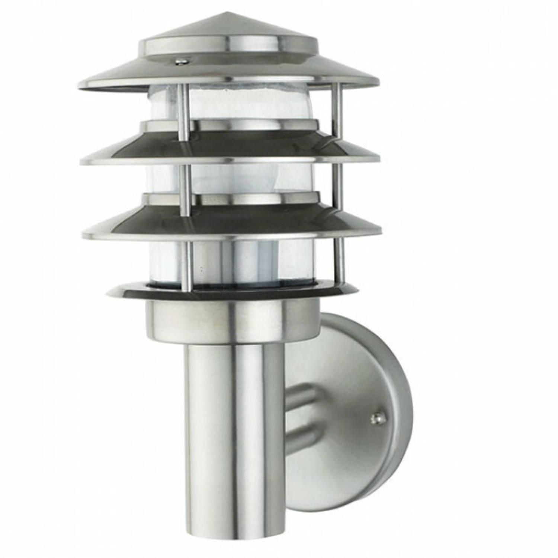 Philips - Led Tuinverlichting - Wandlamp Buiten - Corepro Ledbulb 827 A60 - Kayo 2 - E27 Fitting - 8