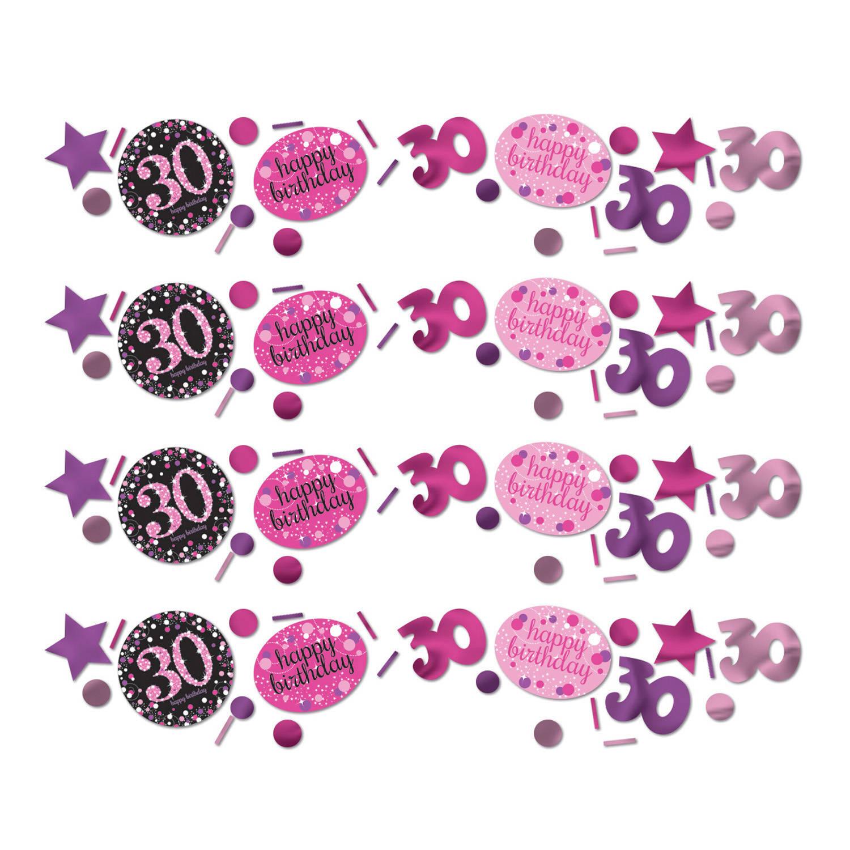 Korting Sparkling Celebrations Confetti 30 Pink (34 Gram)
