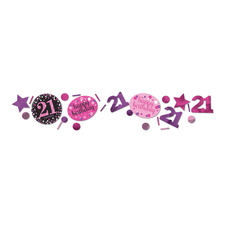 Korting Sparkling Celebrations Confetti 21 Pink (34 Gram)