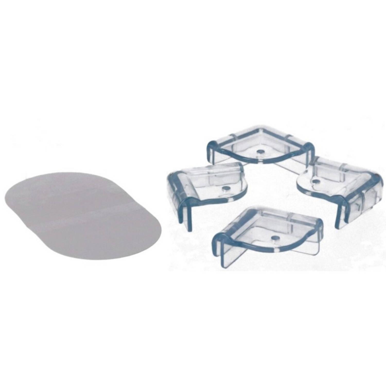 Korting 4x Veiligheids Hoekbeschermer Voor Scherpe Hoeken tafels Hoekbeschermers