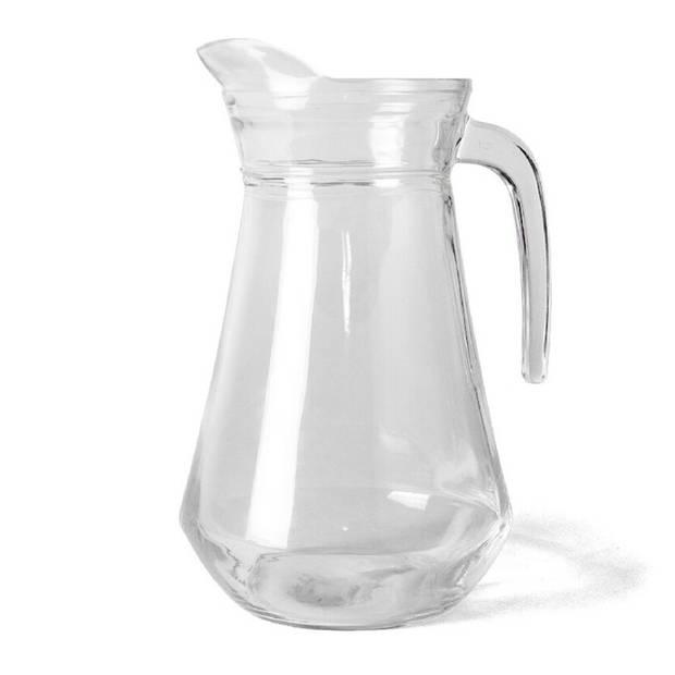 Glazen sangria schenkkan 1.3 liter - Wijnkannen/sangriakannen/schenkkannen