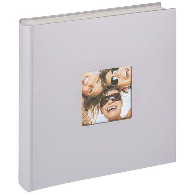Walther Design Fotoalbum Fun 100 pagina's 30x30 cm lichtgrijs