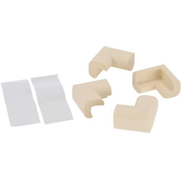 Foam/traagschuim hoekbeschermers voor de baby - 4x stuks - voor tafel / kasten - veiligheid voor kinderen