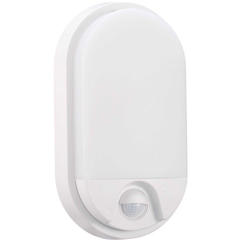 Led Tuinverlichting Met Bewegingssensor - Hoktan - Wandlamp Buiten - 10w - Natuurlijk Wit 4200k - Ma