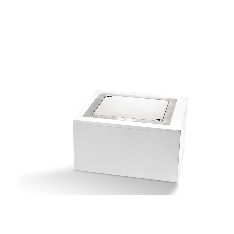 Happy Cocooning Inbouwbrander Vierkant Groot 48x48x24 Cm