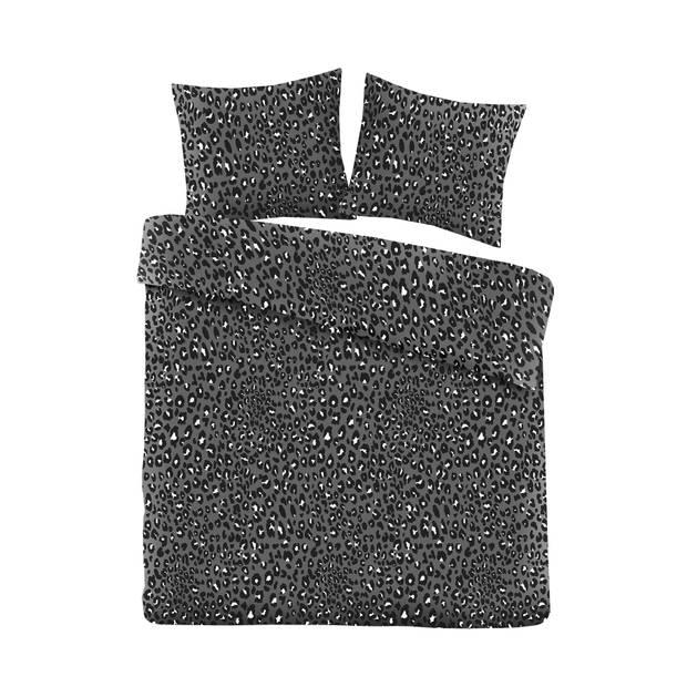 Blokker dekbedovertrek - 240x240 cm - panter