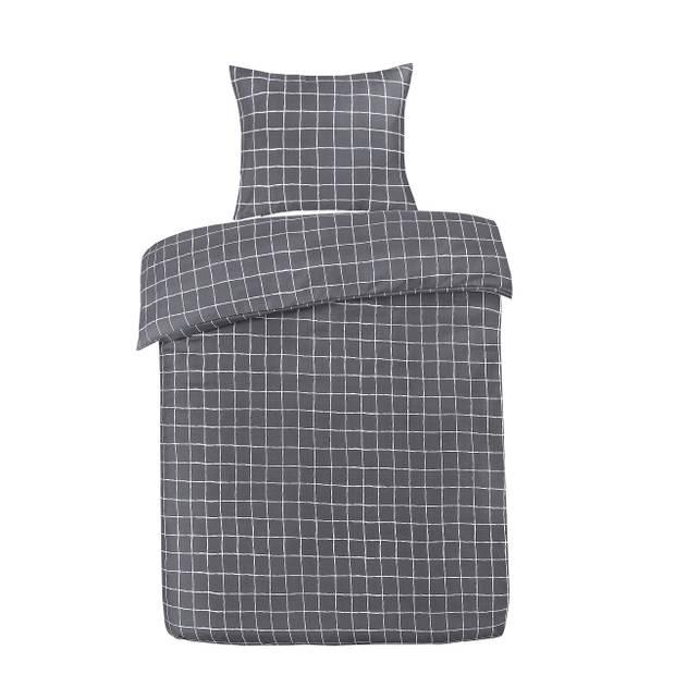 Blokker dekbedovertrek - 140x240 cm - ruit