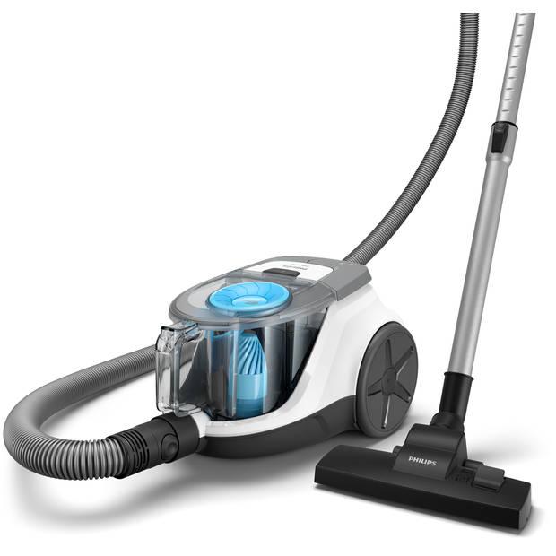 Philips zakloze stofzuiger PowerCyclone XB2122/09 - wit/blauw