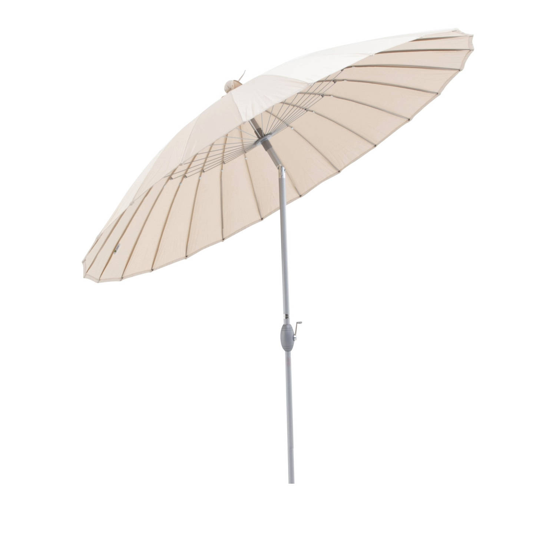 Sorara Shanghai Parasol Ø 260 Cm Beige