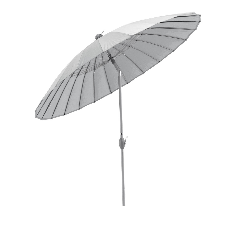 Sorara Shanghai Parasol Ø 260 Cm Grijs