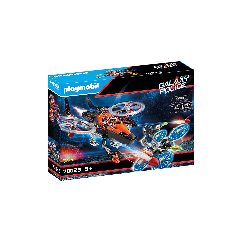 Playmobil Galaxy Police - Galaxy Piratenhelikopter 70023