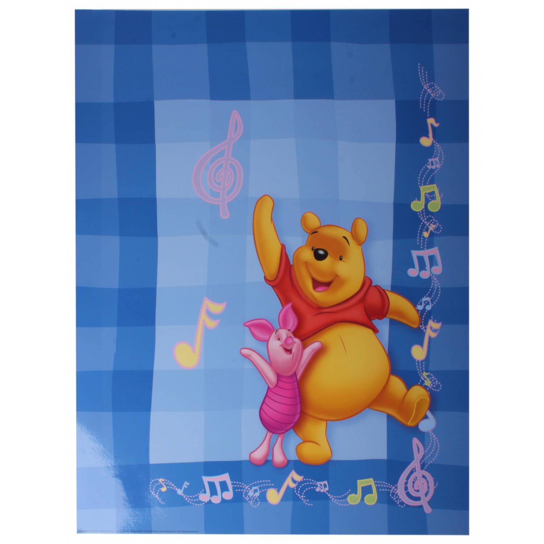 Disney Poster Winnie Muzieknoten Junior 50x40 Cm Papier