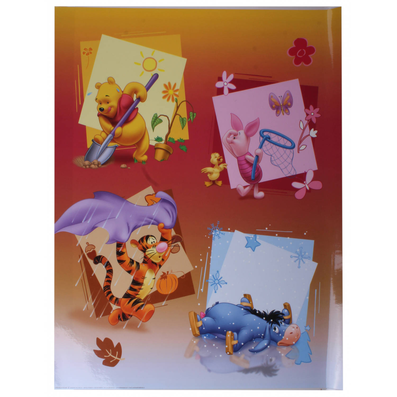 Disney Poster Winnie Seizoenen Junior 50x40 Cm Papier