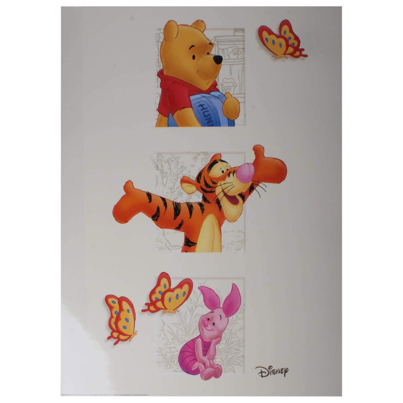 Disney Poster Winnie Tijgertje Knorretje Junior 50x40 Cm Papier