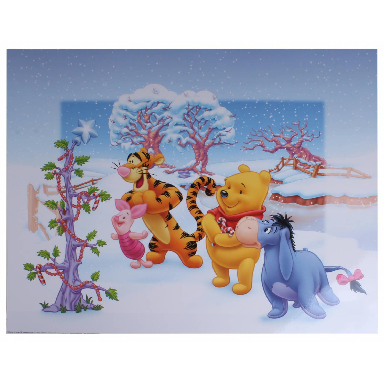 Disney Poster Winnie Kerstboom Junior 50x40 Cm Papier