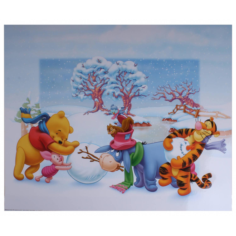 Disney Poster Winnie Sneeuwpop Junior 50x40 Cm Papier