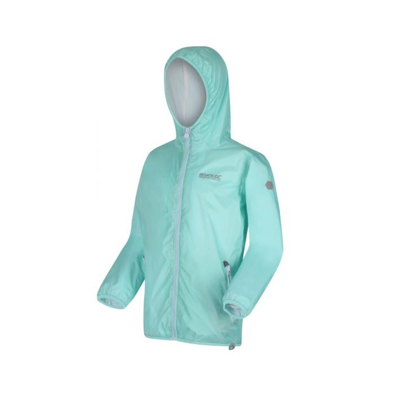 Regatta Regenjas Pack It Junior Polyamide Turquoise Maat 92 online kopen