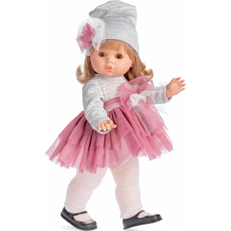 Berjuan babypop Trusseau Colette vinyl grijs-roze