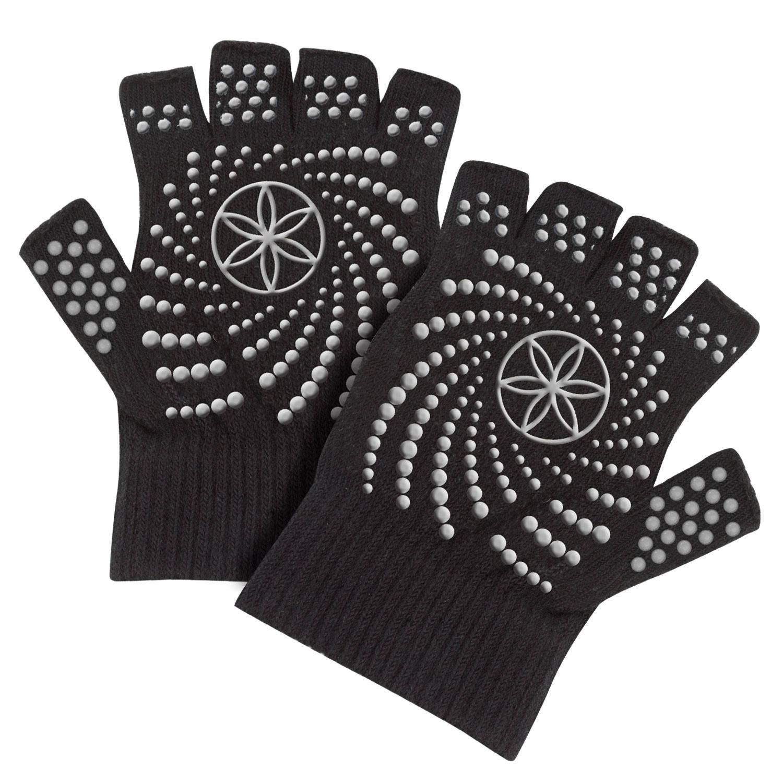 Gaiam Gaiam, Antislip Handschoenen One Size (Zwart) (G05-54029)