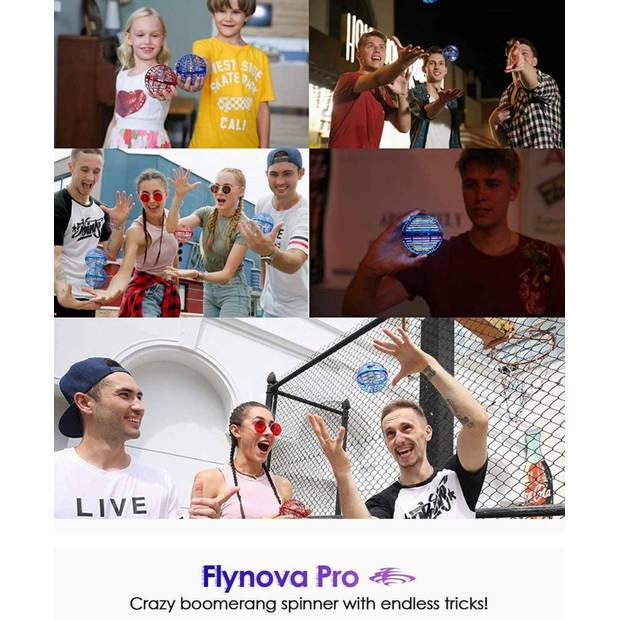 FlyNova PRO - Fidget Toy Boomerang Spinner - Flying Drone Magic Ball