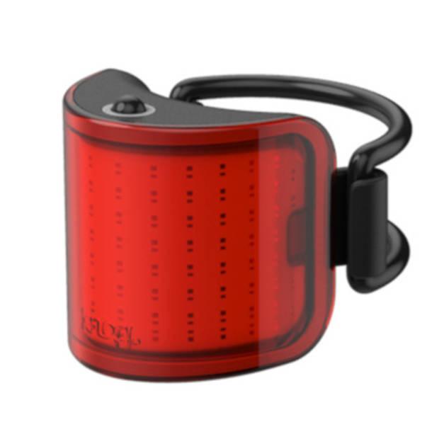 Knog achterlicht Lil' Cobber USB-oplaadbaar rood/zwart
