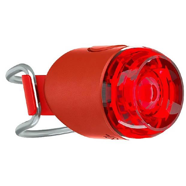 Knog achterlicht Plug oplaadbaar rood