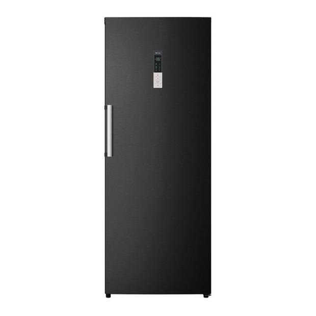 CHiQ FSD380NEI42 - Vriezer - 380 liter - Zwart RVS - Omkeerbare deuren - 40 db