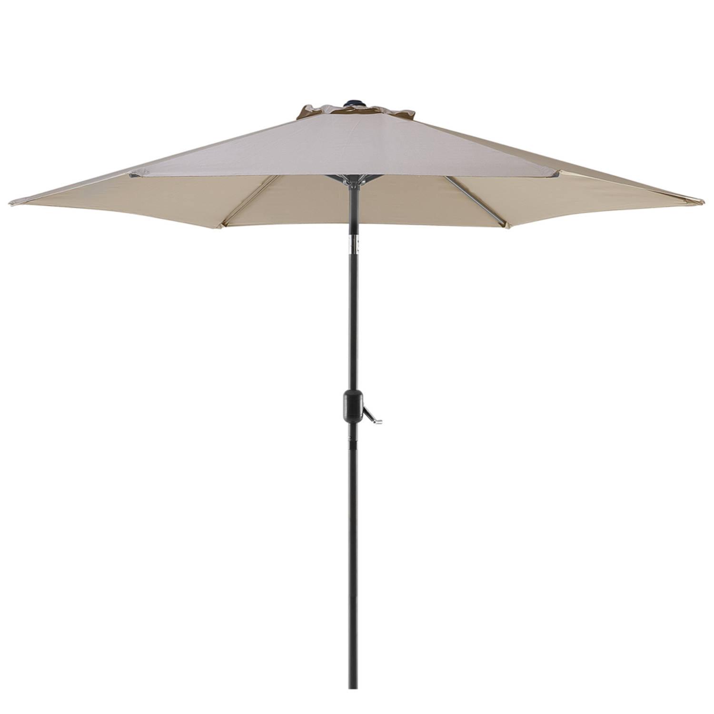 Beliani Varese Parasol Polyester 270 X 270 Cm