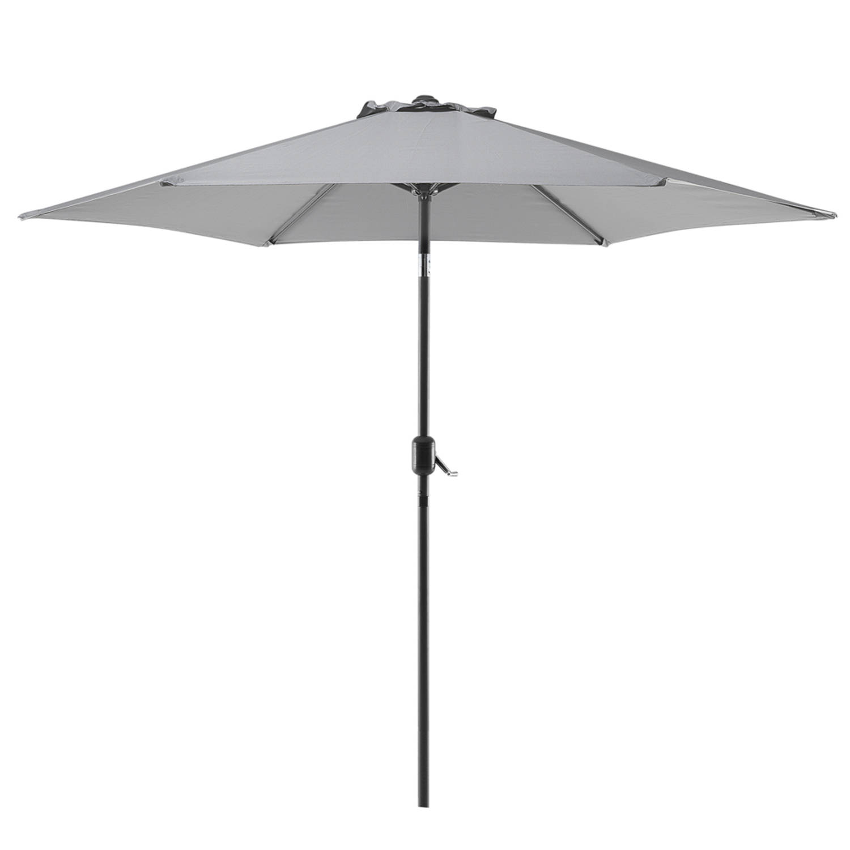 Beliani Varese Parasol Polyester 267 X 267 Cm