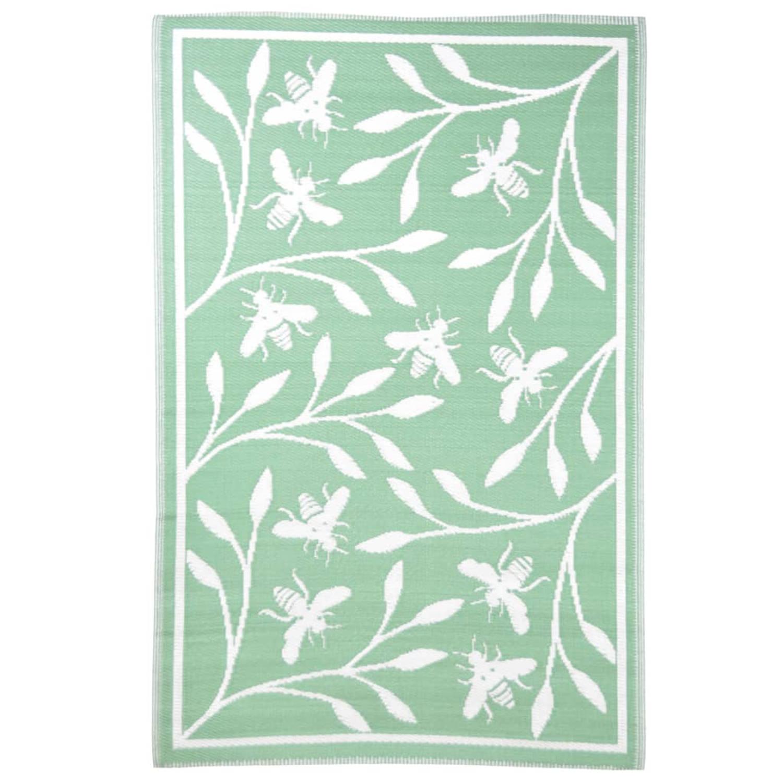 Esschert Design Buitenkleed Bijenprint 182x122 Cm