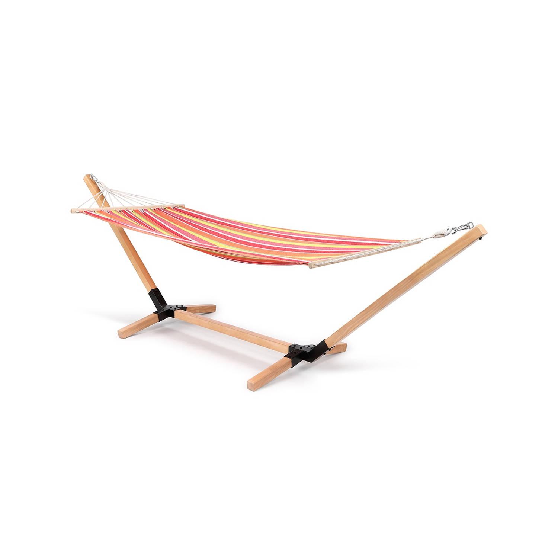 Feel Home - Hangmat Met Houten Standaard