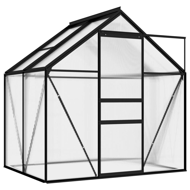 Vidaxl Broeikas 2,47 M² Aluminium Antraciet