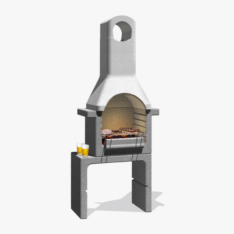 Sarom Fuoco - Betonnen Barbecue - Santander - 76 X 43 X 195,5 Cm