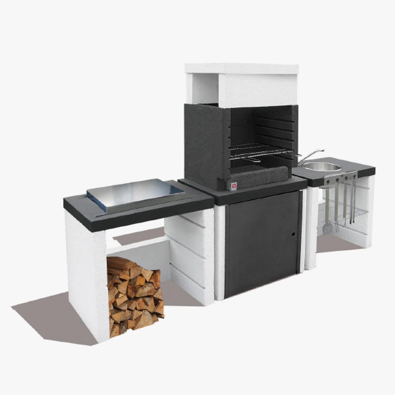 Sarom Fuoco Betonnen Barbecue Buitenkeuken Hercules
