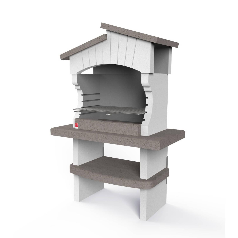 Sarom Fuoco - Betonnen Barbecue - Bogota - 125 X 64 X 184 Cm