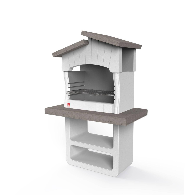 Sarom Fuoco - Betonnen Barbecue - Zara - 114 X 64 X 170 Cm