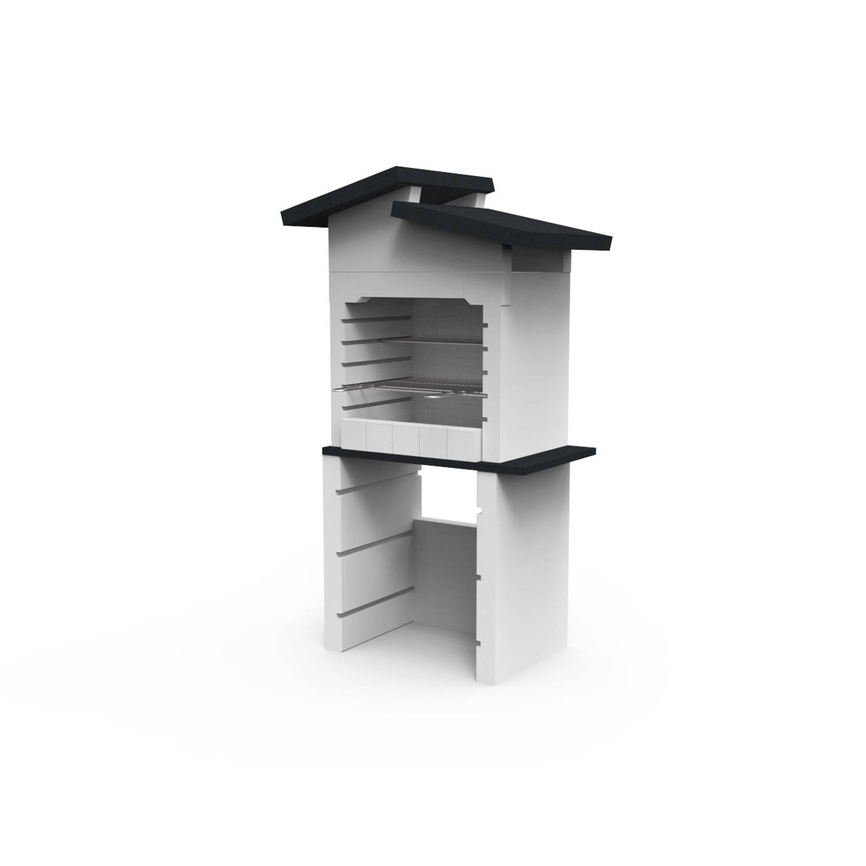 Sarom Fuoco - Betonnen Barbecue - Isabella - 96 X 60 X 167,2 Cm