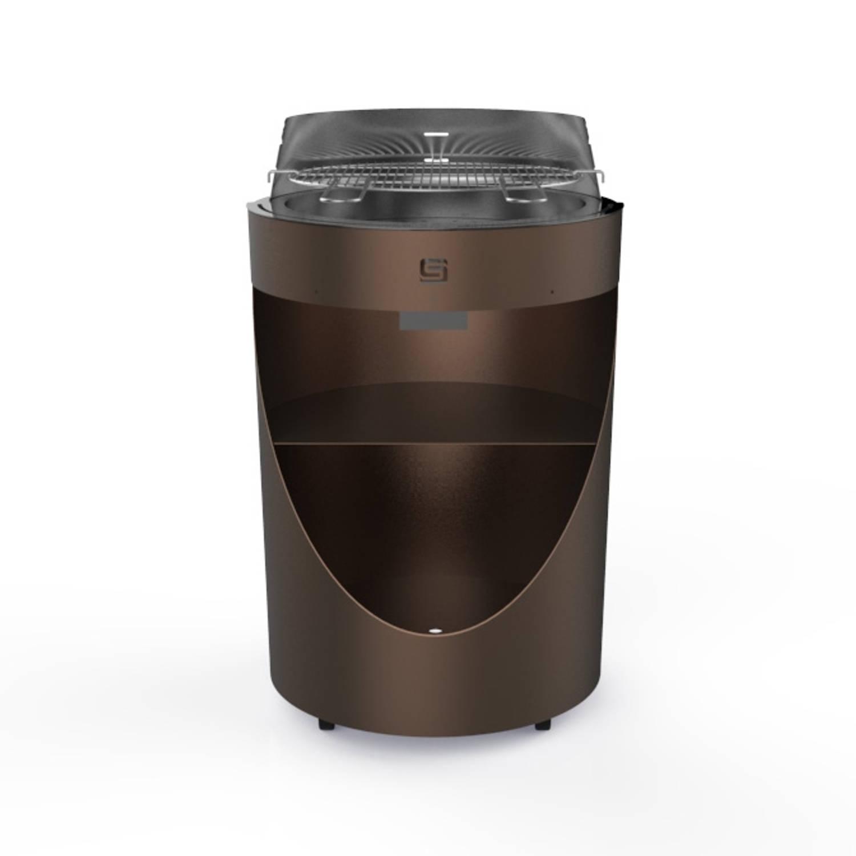 Sarom Fuoco - King Compact - Barbecue - Bruin - 64 X 64 X 95 Cm