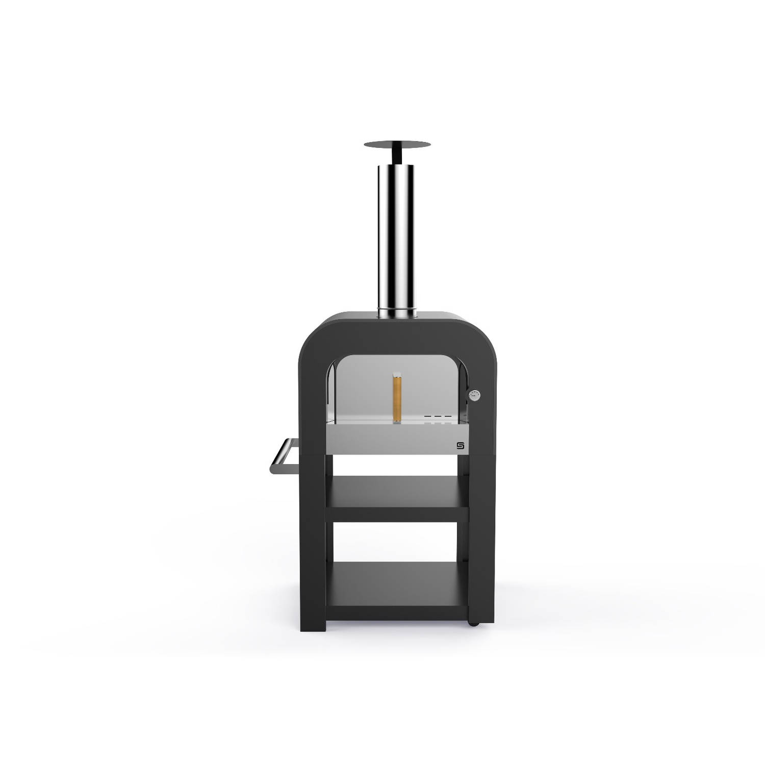 Sarom Fuoco Pizzaoven Fast Oven Houtskool Hout Antraciet