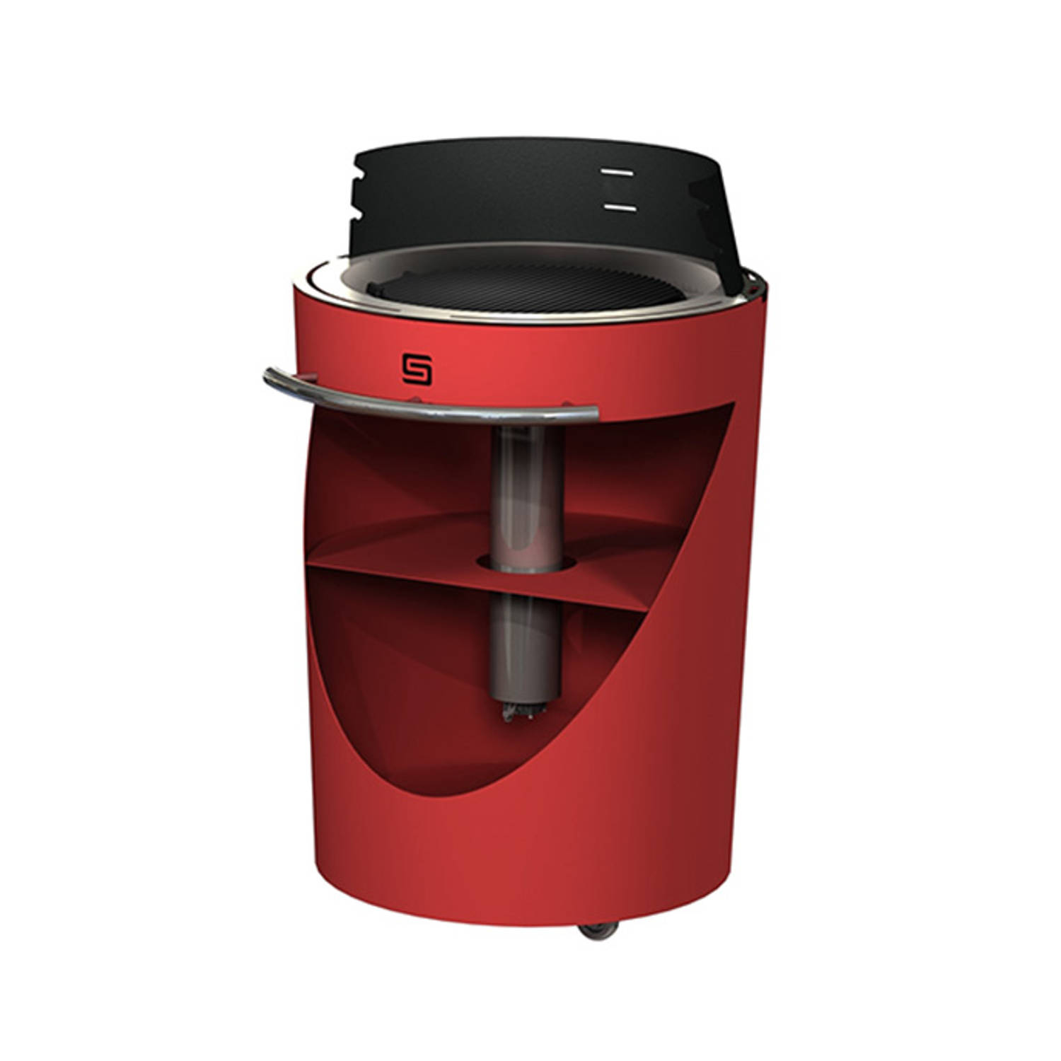 Sarom Fuoco - Pelletbarbecue - King Compact - Rood
