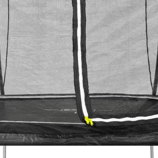 EXIT Black Edition trampoline ø244cm - zwart